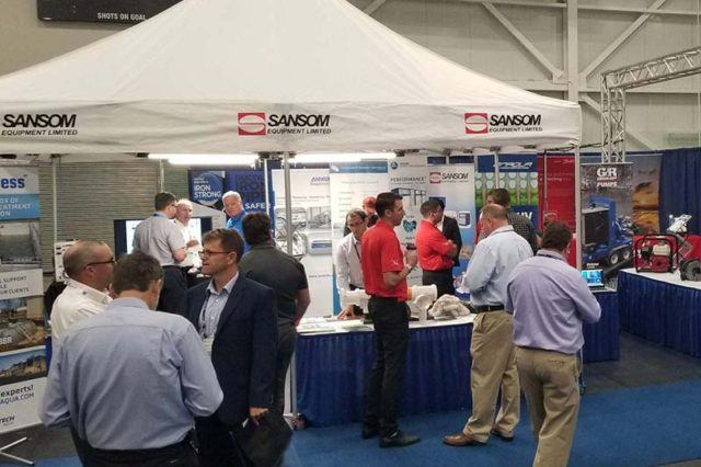 sansom booth at the MPWWA show in Halifax
